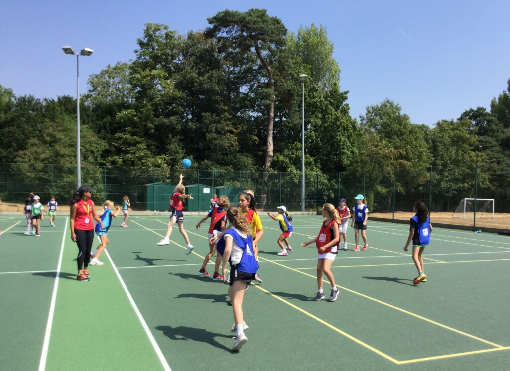 Residential camps netball